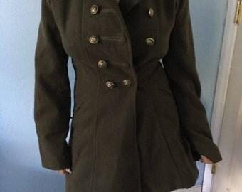 Forrest Green Coat