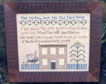 Parting Hour by Heartstring Samplery Counted Cross Stitch Pattern/Chart