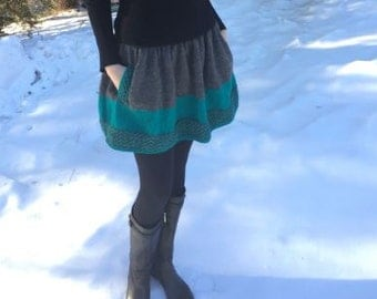 Handmade Knit Skirt