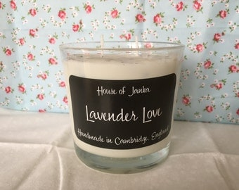 Lavender Love Wood Wick Soy Candle 30cl