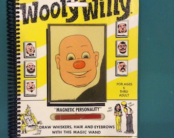 Wooly Willy notebook - vintage - 1990s