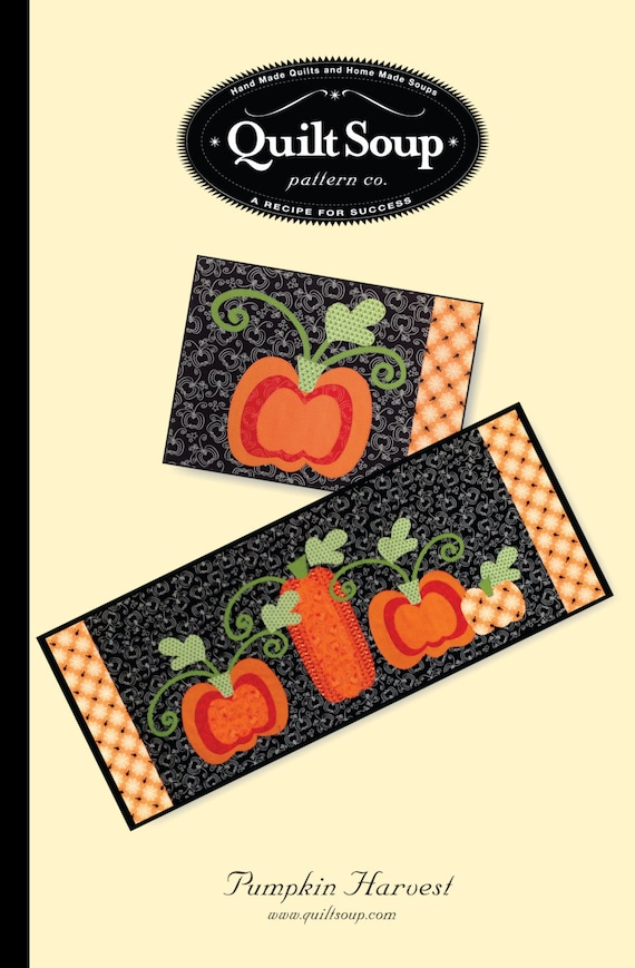 Pumpkin Harvest Pattern- Download