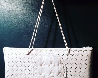 White Bag Embroidery