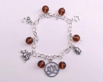 Indian/Thai Buddhist Charm Bracelet
