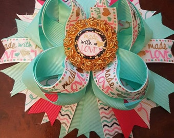 Made with Love Hairbow