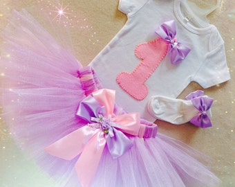 1st Birthday Girl Outfit, Baby Girl EXCLUSIVE, Baby Girl First Birthday Outfit, Baby Girl Birthday Dress