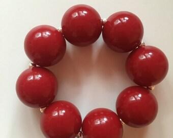 Fall bubblegum bracelet