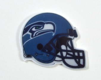 Seattle Seahawks Inspired Sports Football Team Planar Resins Cake Toppers