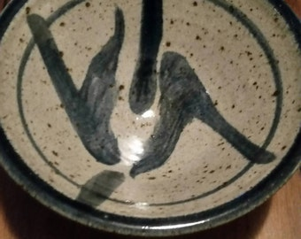 Rice bowl pottery