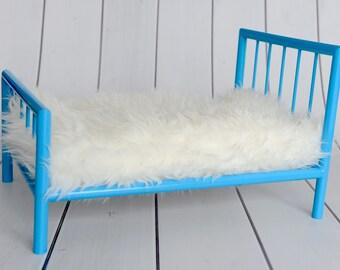 Newborn Photo Prop Bed, Metal Bed