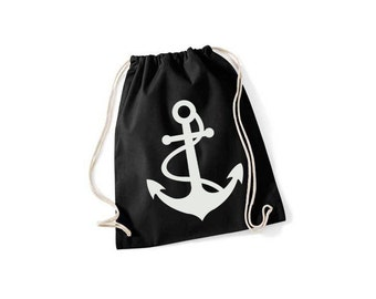 Anchor with rope - gym bags in 9 colors