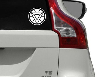 Iron Man Arc Reactor Vinyl Decal