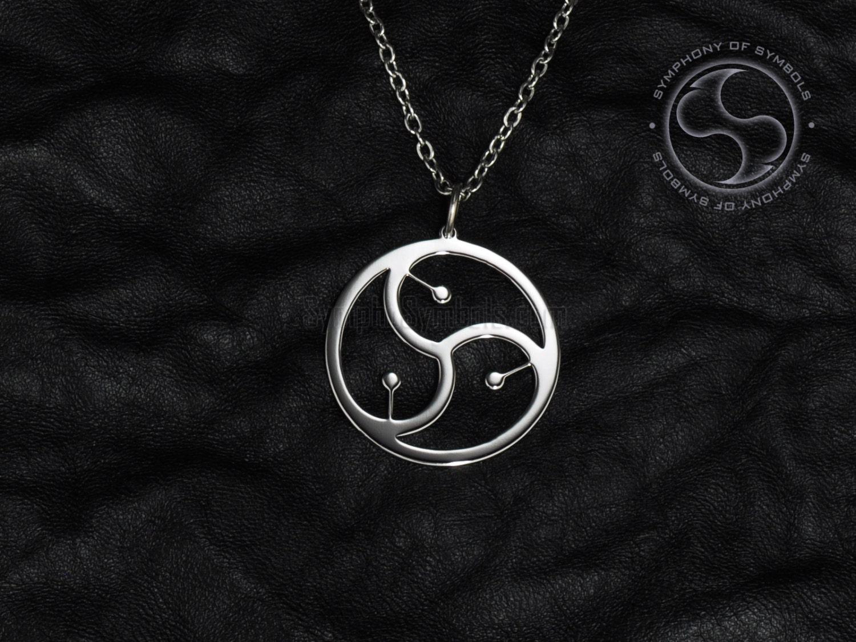 jewelry Bdsm symbol pendant