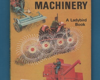 Ladybird Book, Farm Machinery, How It Works, 654 Series