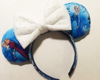 Frozen Minnie Mouse Ears