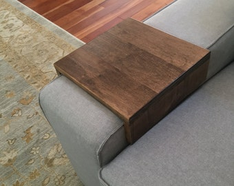 Exceptional Rustic Sofa Arm Rest Table, Couch Wrap, Arm Rest Tray