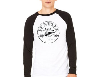 Seattle Stamp Raglan