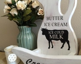 Farmhouse Creamery Wall Hanging