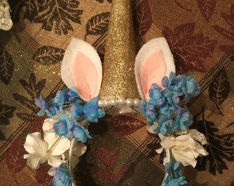 Unicorn Flower Crown Made to Order