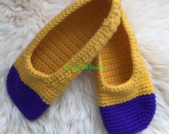 Simple Crochet Slippers