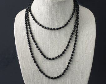 Black Jet Necklace
