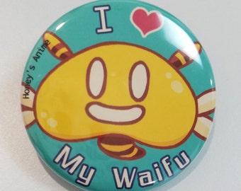 I Love My Waifu Pin | Honey's Anime