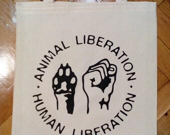 Tote Bag - Animal Liberation - Animal Rights