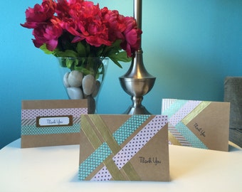 Thank You Cards (set of 3) - Pastel Inspired