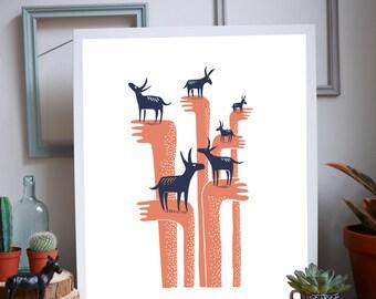 Six Donkeys (same dream)