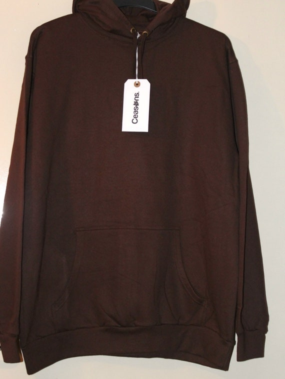 Chocolate Adidas x Yeezy Boost 750 Distressed Style Ceasons Hoodie