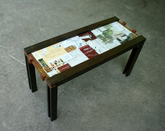 The Coffee Table 1 Under Glass Display For Personalization