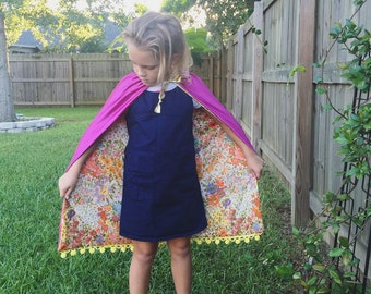 Reversible childs cape