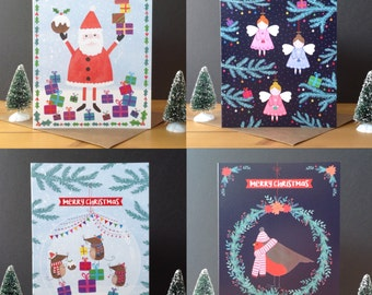 Christmas cards - pack of 8