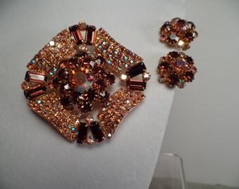 1950's Set in Autumn Colors-Super Sparkle!