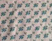 Floral Cotton Fabric | Light Pink With Pink and Blue Pastel Flowers  |RJR Fashion Fabrics