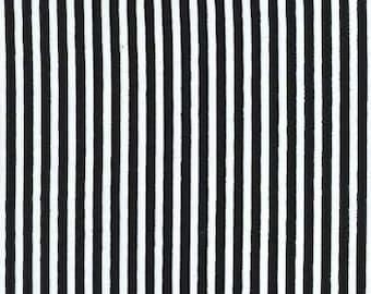 Fat quarter - Little Stripe in Midnight - Michael Miller cotton quilt fabric