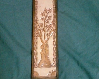 Man and Woman Tree Guitar Strap