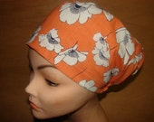 New  Coquelicots Euro Style Medical Surgical Scrub Hat Vet Nurse Chemo