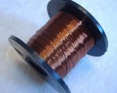 Brown colour British Craft Wire 0.2mm 175m long