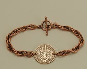 Sweden Coin Bracelet 1942 Crowned Monogram