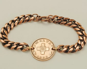 Malta Coin Bracelet 1972