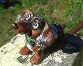 Custom Dog sculpture From your photos, Custom Dog figurine, Pet sculpture, keepsake, dachshund, Pitbull