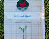 Let Love Grow Card 1