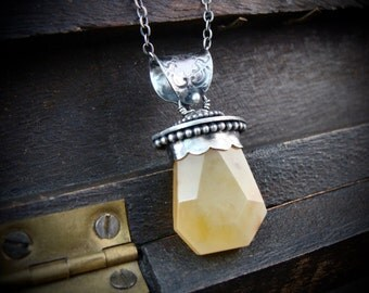 nectar ... honey opal pendant