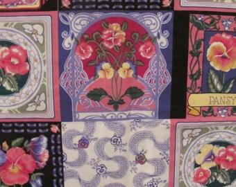 Spring Flowers Print Fabric