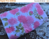 40% FLASH SALE- Vintage Floral Pillowcase -Pink Floral