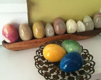One Dozen Alabaster Eggs / Instant Collection