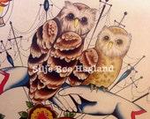 ON SALE Trofast - Watercolor print