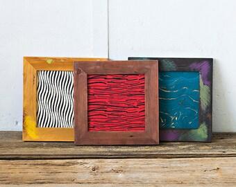 10x10 Picture Frame | Reclaimed Wood Frame | Custom Made Frame | 10x10 Photo Frame | Square Picture Frame | Instagram Photo Frame | 1010E