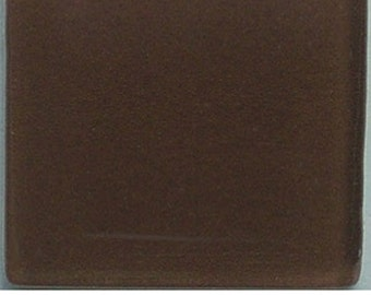 ct inch walnut brown crystal glass mosaic tiles